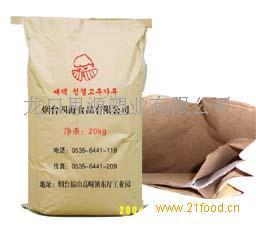 25公斤出口草莓牛皮纸袋-提供出口商检单