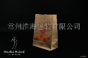 专业生产 蛋糕袋 冰基淋袋 手提袋 打包袋 便利袋 外卖袋 牛皮纸袋 环保纸袋