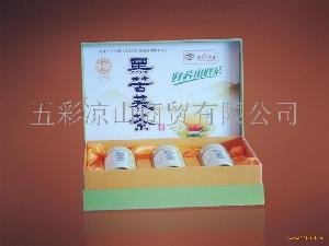 黑苦荞全胚芽茶(礼盒)