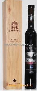 加拿大进口冰酒加枫冰红甜葡萄酒STYLE RED ICE WINE
