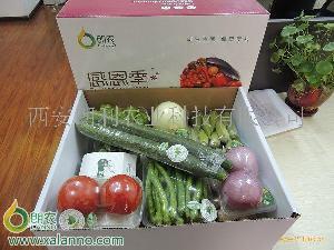 朗農有機果蔬/有機蔬菜/朗農有機/西安禮品菜/西安蔬菜禮盒