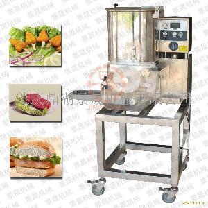 全自动汉堡肉饼成型机