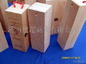 天津木制葡萄酒盒