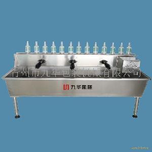 六头轨道式刷瓶机