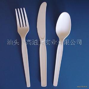PP 刀叉勺 一次性刀叉勺 外贸原单清仓处理