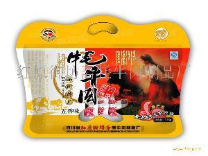 """红原御坊斋""""撇脱咀""""牌118g休闲味牦牛肉(五香味)"""