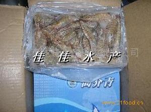 冻虾鲜虾冰鲜虾南美白对虾