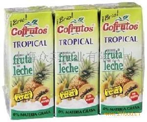 卡芬热带水果乳饮