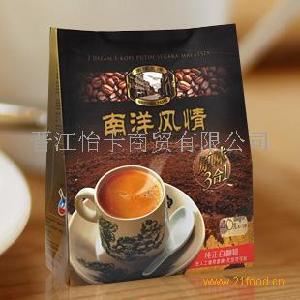 马来西亚进口 南洋风情白咖啡原味三合一 速溶咖啡 600克无尽香浓
