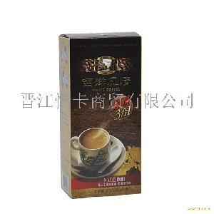 马来西亚原装进口 南洋风情三合一白咖啡 盒装125g