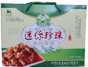 迷你珍珠油焖香菇礼盒