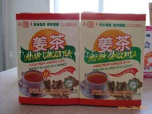 姜茶的制作原料