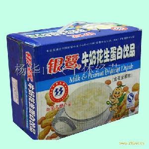 银鹭花生牛奶饮料