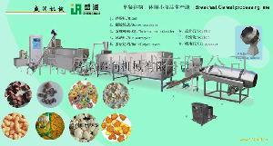 膨化小食品生产线 休闲小吃加工设备