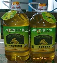 一级压榨菜籽油