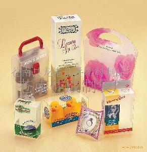 pvc礼品折盒