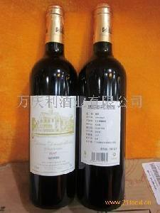 皮松庄园2007干红葡萄酒