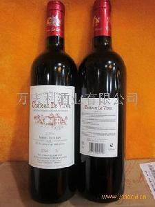 威鲁庄园2004干红葡萄酒