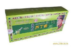 四川彝家山寨黑苦荞芦丁香茶210g盒装