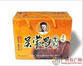 广西玉林特产吴常昌牛巴2罐装