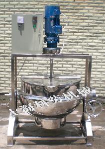 电加热夹层搅拌锅(带龙门架)