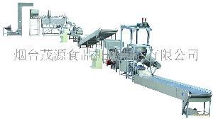 花生米全自动油炸生产线