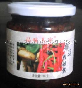 品味人家蘑菇辣椒酱