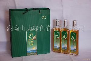 420ml*2瓶野生純山茶油禮盒包裝