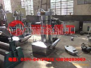 液压榨油机生产线