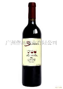 美国葡萄酒-三杯