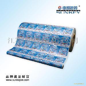 酸奶盖膜包装