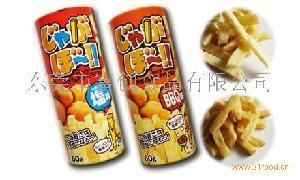 日文版油炸薯片(盐味 BBQ)