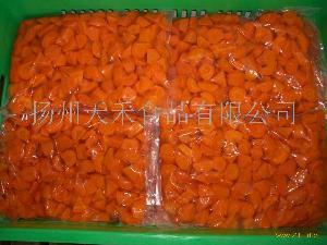 水煮胡萝卜块