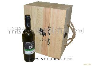 六只松木酒盒