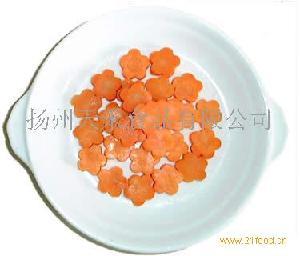 盐渍胡萝卜梅花片