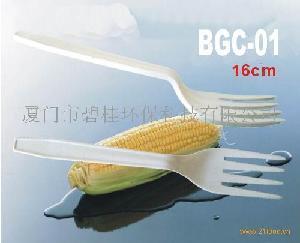 玉米淀粉餐具,叉