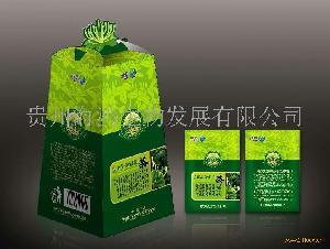 乌蒙金银花茶梯型包装