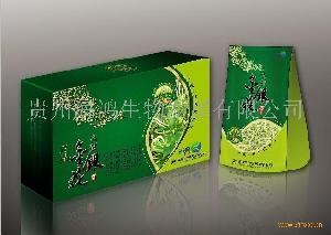 乌蒙金银花茶长方型包装