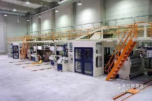 专业订制大幅宽五层高速自动瓦楞纸板生产线(拥有8项国际专利)