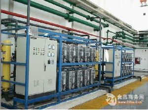高纯水制取设备-二级反渗透设备+EDI电离子