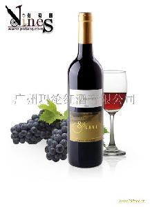 88大道西拉子干红葡萄酒