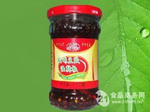 风味豆豉油辣椒210克