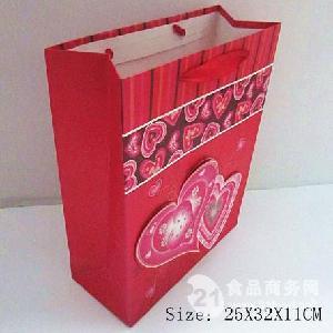 婚庆糖果包装袋 大红